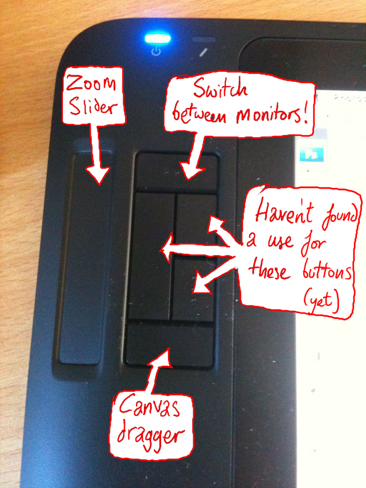 Buttons on my wacom!