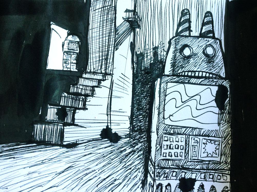 #3 Robot angst
