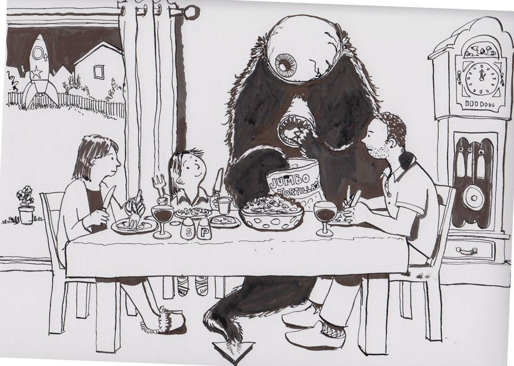 #20 The Ravenous Beast of Alpha Centauri is invited back for dinner