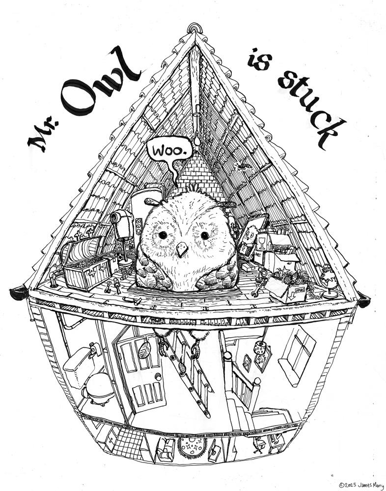 Mr Owl is Stuck