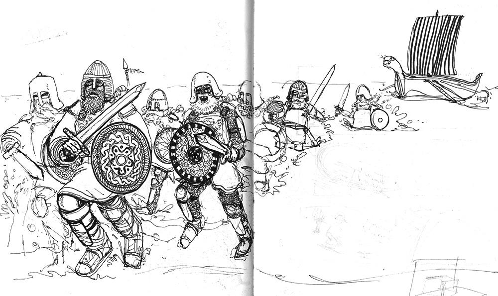 Shouty Vikings